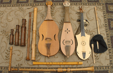 Middle Age Musical Instruments