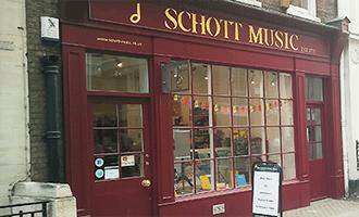Scott Music Shop